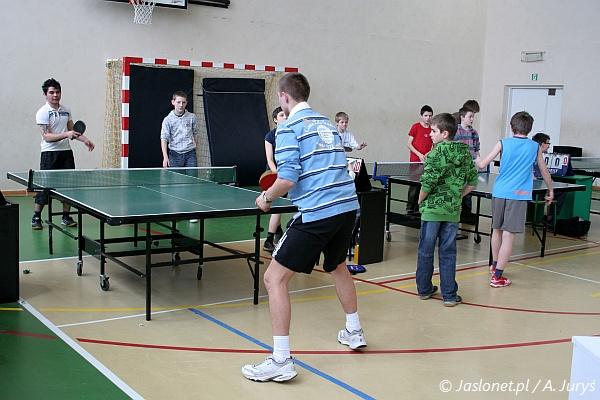 Mistrzostwa Jasła w tenisie stołowym