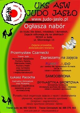 Judocy z Jasła zapraszają na treningi