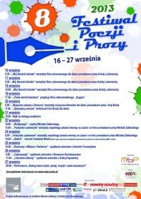 VIII Festiwal Poezji i Prozy już wkrótce