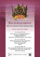 Inauguracja jasielskiego roku jubileuszowego