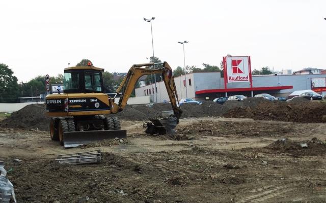 Obok Kauflandu powstanie nowa inwestycja? (fot. jasielskieinwestycje.pl)