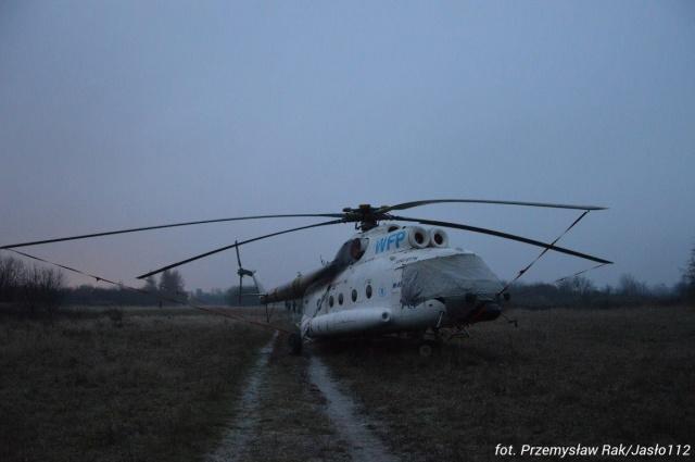 Śmigłowiec ONZ awaryjnie lądował w Jaśle