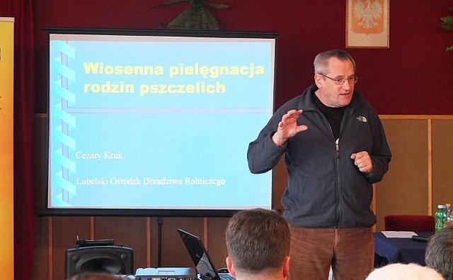 Konferencja pszczelarska w Jaśle