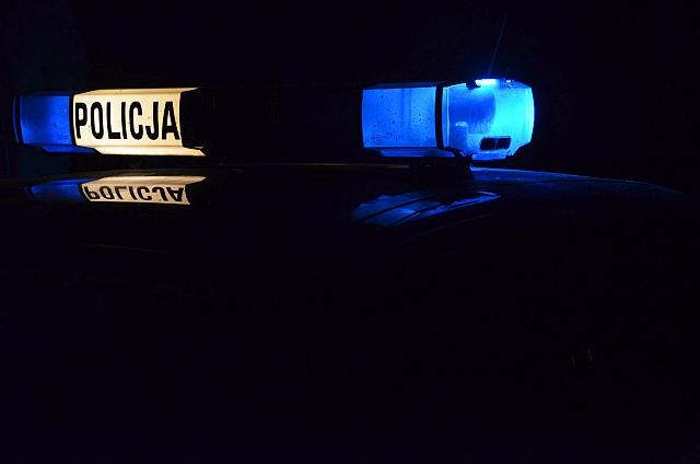 Policjanci zatrzymali włamywacza