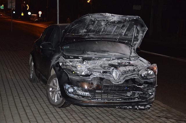 Lwowska: Najechanie na tył pojazdu. Nie ma osób poszkodowanych (foto)