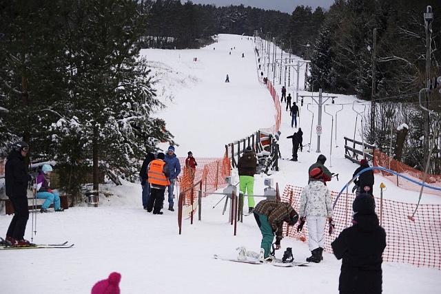 """Wyciąg """"MARESZKA"""" otwarty! (fot. mareszkaski.pl)"""