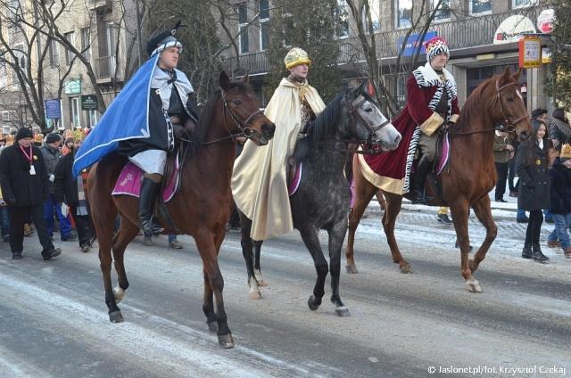 Orszak Trzech Króli po raz trzeci w Jaśle (fot. archiwum)