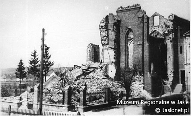 Ruiny kościoła oo. Franciszkanów