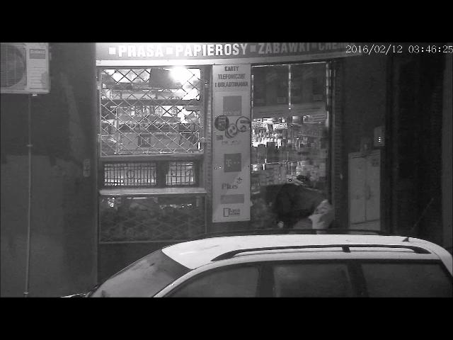 Włamał się do kiosku - został zatrzymany