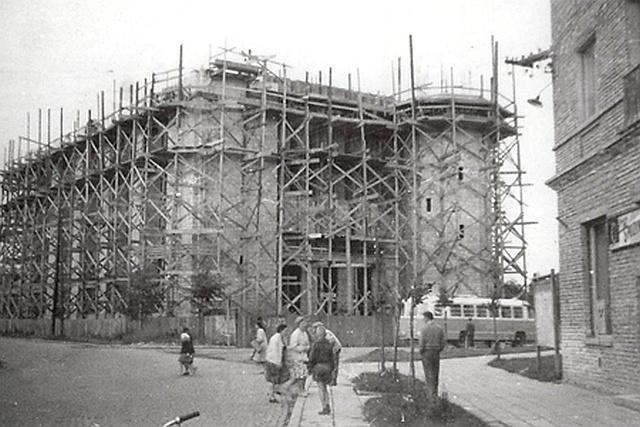 Budowa nowego kościoła oo. Franciszkanów