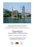 Stambuł - miasto dwóch kontynentów