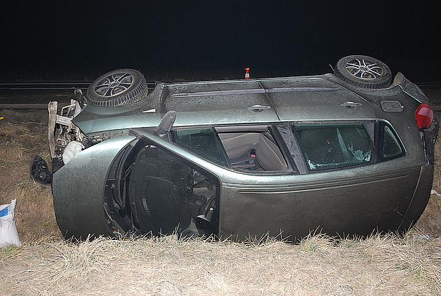Cztery osoby ucierpiały w wypadkach