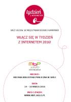 MBP: Odkryj możliwości Internetu w Bibliotece!