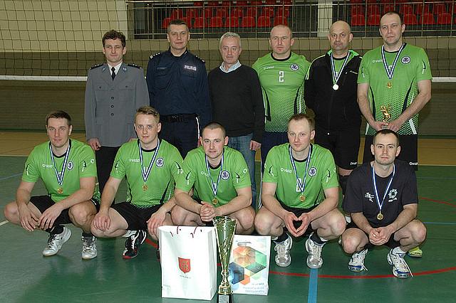 Policjanci rywalizowali o Puchar Komendanta w siatkówce