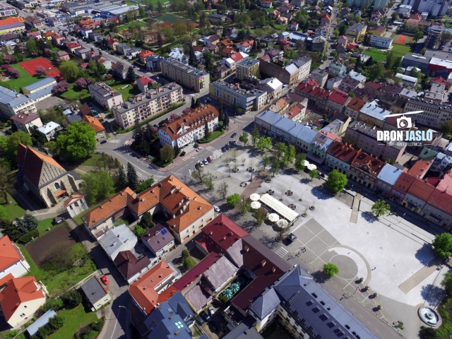 Wakacje w mieście (fot. dronjaslo.pl)