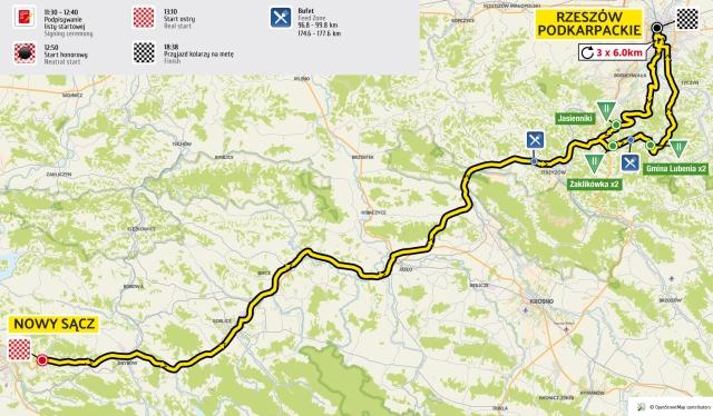 """Utrudnienia na drogach w związku z wyścigiem 73. """"Tour de Pologne"""""""