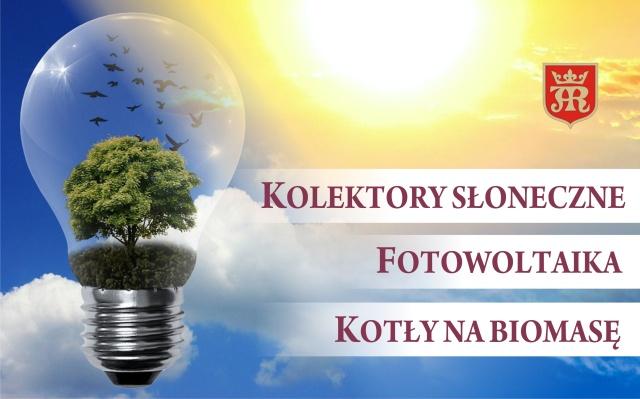 Kolektory słoneczne, fotowoltaika, kotły na biomasę – Miasto Jasło ogłasza nabór