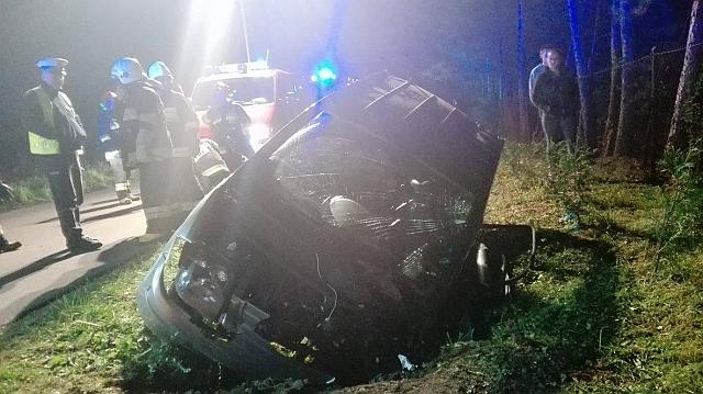 Cieklin: cztery osoby ranne w wypadku (fot. Mateusz Kamiński)
