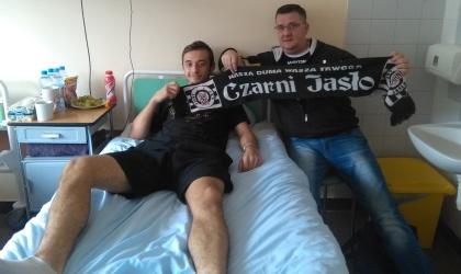 Wojtek Zabawa już po operacji i powoli wraca do zdrowia