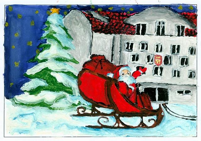 Konkurs na oficjalną kartkę świąteczną rozstrzygnięty