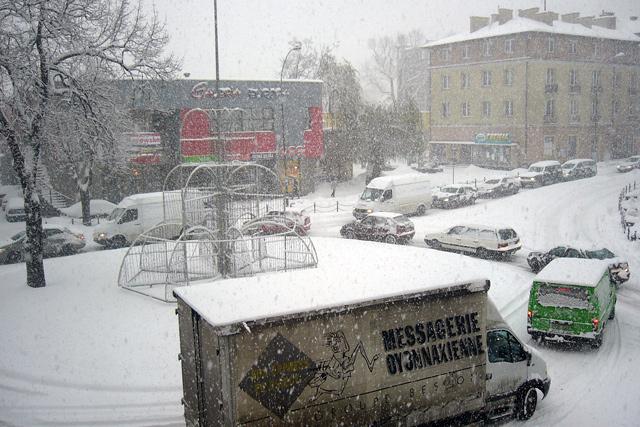 Ostrzeżenie o zawiejach i zamieciach śnieżnych