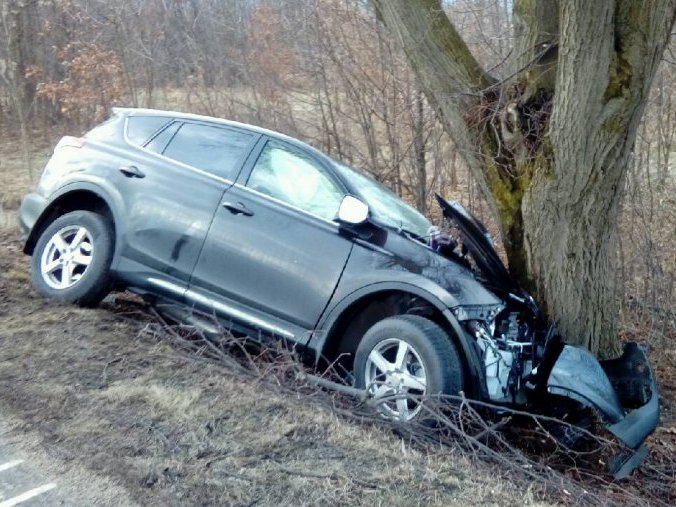 Wypadek w Gorzycach. Dwie osoby w szpitalu
