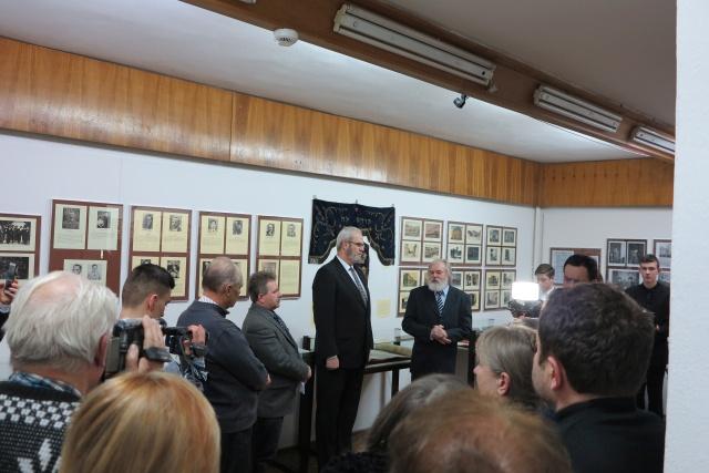 Społeczność żydowska w Jaśle - wernisaż wystawy