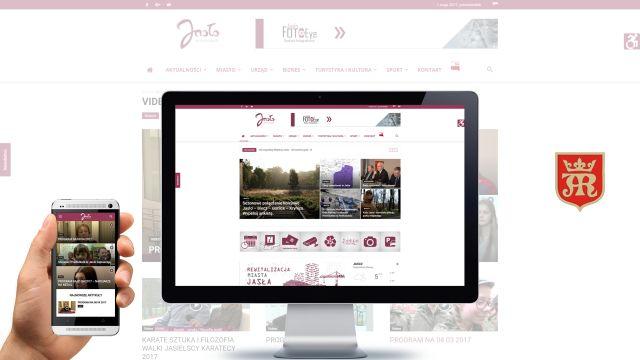 Nowa strona internetowa i facebook Urzędu Miasta Jasła