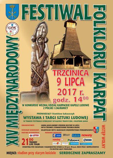 W niedzielę: XIV Międzynarodowy Festiwal Folkloru Karpat w Trzcinicy