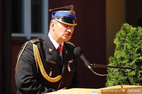 Wiesław Latoszek - komendant PSP w Jaśle