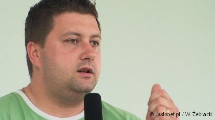 Marcin Węgrzyn - prezez klubu Czarni Jasło