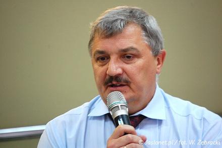 Zbigniew Betlej, dyrektor jasielskiego szpitala