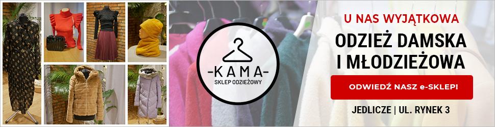 Sklep odzieżowy Kama Jedlicze